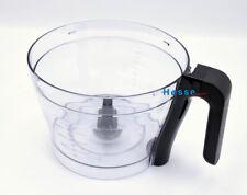 Philips Rührschüssel HR3916 für Küchenmaschinen HR7774,HR7775,Bowl Chopper Black