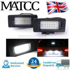 2x LED License Number Plate Light Canbus For Audi A4 S4 B8 A5 S5 TT Q5 VW  -
