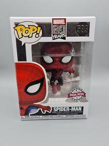 SPIDER-MAN METALLIC SPECIAL EDITION FUNKO POP 593 SPIDER MAN #593