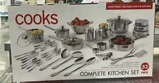 Cook 52Pc Stainless Steel Cookware Set