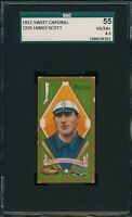 1911 T205 James Scott Sweet Caporal SGC 55 VG-EX+ 4.5 Not PSA