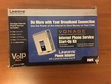 Linksys (Cisco) Vonage Phone Adapter (PAP2), Internet Phone Service Start-Up Kit