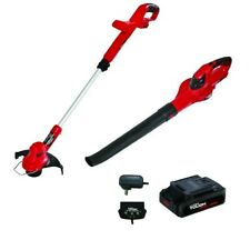 Hyper Tough 20V MAX Cordless Trimmer Sweeper Combo, Weedeater HT19-401-003-07