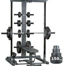 Ironmaster IM2000 Self Spotting SMITH MACHINE PACKAGE // Weights Bench Home Gym