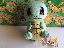 """Pokemon Plush Squirtle Knitted 2005 UFO 7"""" Banpresto stuffed figure Doll Toy"""