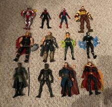 Marvel Legends Lot Of 12 Cable Doctor Strange Spider-man Miles Juggernaut Thor