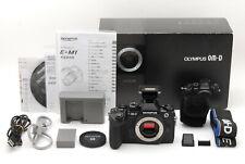 【Near Mint in Box】Olympus OM-D E-M1 16.3MP Digital Camera Black From Japan #731