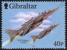 RAF SEPECAT JAGUAR GR1b Aircraft Airplane Stamp (Gibraltar) Royal Air Force