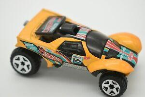 2002 HOT WHEELS Orange Diecast Dakar Car Malaysia