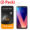[2-Pack] Premium Tempered Glass Screen Protector For LG V30