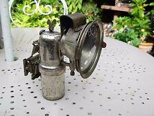 LAMPE CARBURE VELO ANCIEN ECLAIRAGE 19 ème Siècle bicyclette