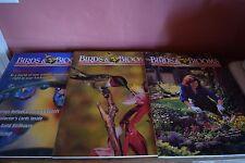Lot of 3 Birds and Blooms Magazines~COLLECTORS EDIT 2001,FEB/MAR,APR/MAY 2002