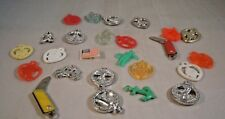 Vintage Cracker Jack Gumball Charms Prize Toy Lot Of 25