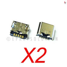 2 X LG UK410 G Pad 7.0 Tablet USB Charger Charging Port Dock Connector USA