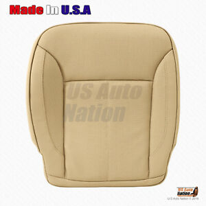 2010 2011 2012 Mercedes Benz GL450 GL550 TAN Bottom Perforated Leather SeatCover