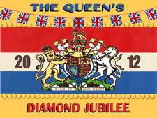 The Queen's Diamond Jubilee British Vintage Metal Sign