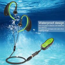 Waterproof 8GB MP3 Music Player + 3.5mm Earphone for Underwater Sport Swim Run