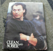 1988 Clean and Sober Movie Press Kit Folder with 2 Photos and Production Notes