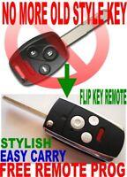 ALin1 Flip KEY REMOTE FOR 2006-2011 CIVIC CHIP KEYLESS ENTRY FOB Alarm Beeper