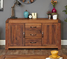 Shiro Solid Walnut Furniture Large Sideboard Living Room CDR02A