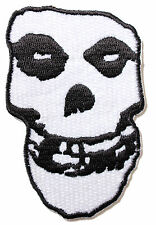 Official Misfits - Fiend Skull -  Cut Out Sew/Iron On Patch