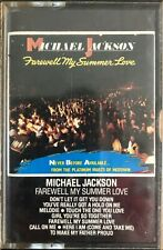 MICHAEL JACKSON - FAREWELL SUMMER LOVE - CASSETTE