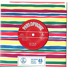 """THE BEATLES - LOVE ME DO - 50TH ANNIVERSARY MISPRESS CAT NUMBER 7""""45 RECORD 2012"""