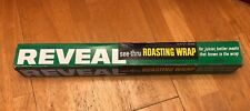 Vintage Colgate Reveal See Thru Roasting Wrap partial Giant Roll 18� 70s BrownIn