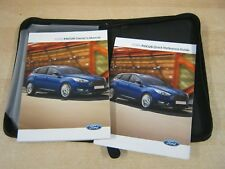 FORD FOCUS  OWNERS MANUAL -OWNERS HANDBOOK 2013-2016 COVERS AUDIO REFM100