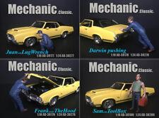 Mechanic Classic Set 4 Figuren Mechaniker Model in 1:24 American Diorama