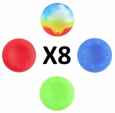 New 8x Thumb Analog Gamepad Stick Silicone Caps Covers For PS4 XBOX ONE #511