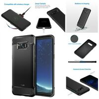 Case For Samsung Galaxy S8 With Shock Absorption Phone Protective Cover Black