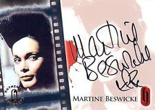 Hammer Horror Series 1 Auto Card HA9 Martine Beswicke