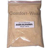 Ashwagandha Herb POWDER  Ashvagandha Indian GINSENG 100gm/3.53 oz HERBAL EDH