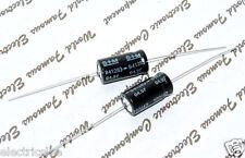 2pcs - SIEMENS (EPCOS) 100uF 40V Axial Electrolytic Capacitor - B41283-B7107-T