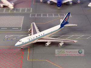 Herpa Olympic Greece Boeing 747 1:1000 Diecast Commercial Plane Model 570190