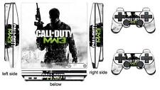 COD MW3 201 Skin Sticker for PS3 PlayStation 3 Slim and 2 controller skins