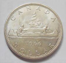 1966 SILVER Dollar CHOICE AU-UNC ** HIGH Grade BEAUTY Elizabeth II Canada $1.00