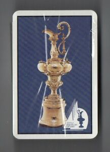 #N.029 Vintage Swap / Playing Card SEALED DECK, America's Cup 1987