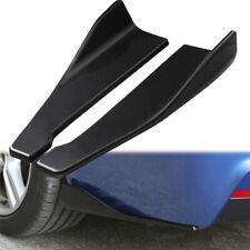 2Pcs Car Accessories Spoiler Bumper Rear Lip Angle Splitter Diffuser Protector