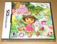 Dora's Big Birthday Adventure (Nintendo DS) Brand New / Fast Shipping