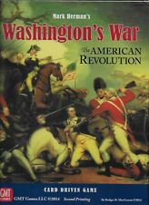 NEW & SEALED - GMT GAMES WASHINGTON'S WAR The American Revolution