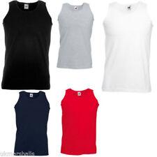 Henley Sleeveless T-Shirts Oversized for Men