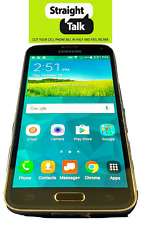 Samsung Galaxy S5 V Straight Talk Verizon Towers BLACK Unlocked CDMA G900V