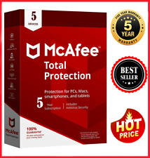 McAfee Total Protection 2020✅ 5 Pc ✅ 5 year antivirus 📩