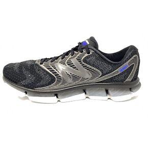 New Balance Men's Rubix V1 Running Shoes Sneakers Black/Steel Sz 12 2E Wide