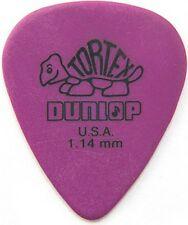 JIM DUNLOP TORTEX GUITAR PICKS PURPLE 1.14mm EXTRA HEAVY (12-PACK) *NEW* 418P114