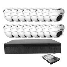 16Ch Xvr 8Mp Ahd/Tvi 5-In-1 2.8-12mm Zoom Surveillance Security Camera Kit set
