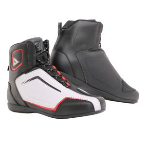 Dainese Raptor Shoes Black/White/Red