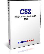 L&N S&NA North Sub: Nashville to Birmingham - PDF on CD - RailfanDepot